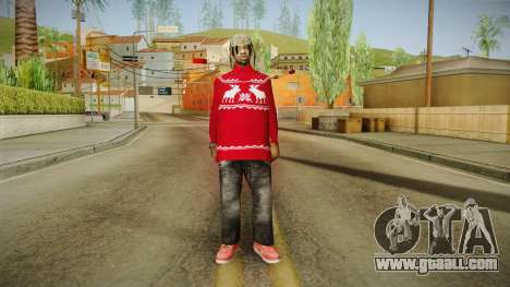 Winter Fam2 for GTA San Andreas second screenshot