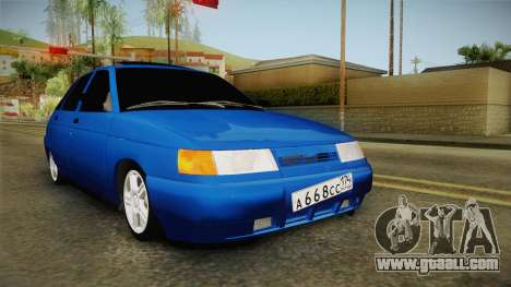VAZ 2112 for GTA San Andreas