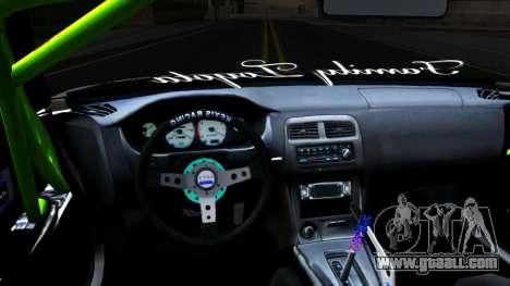 Toyota Chaser Seulbi Lee Itasha Drift for GTA San Andreas inner view