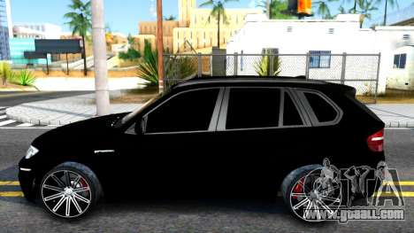 BMW X5M E70 2011 for GTA San Andreas left view