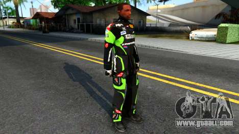 Kawasaki Racing Suit for GTA San Andreas second screenshot