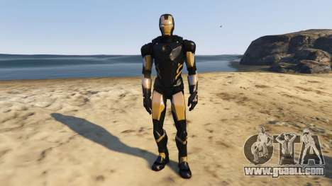 GTA 5 Iron Man Marvel Now