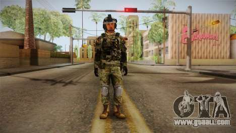 Multitarn Camo Soldier v2 for GTA San Andreas second screenshot
