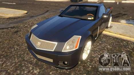 Cadillac XLR-V for GTA 5