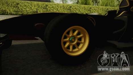 F1 Lotus T125 2011 v3 for GTA San Andreas