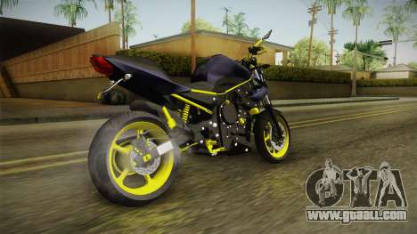 Yamaha XJ6 for GTA San Andreas back left view