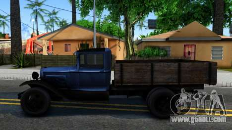 GAZ-MM 1940 IVF for GTA San Andreas left view
