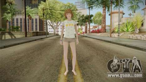 Life Is Strange - Max Caulfield PJ Chick for GTA San Andreas second screenshot