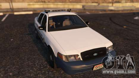 GTA 5 Marked K-9 Unit 2011 back view