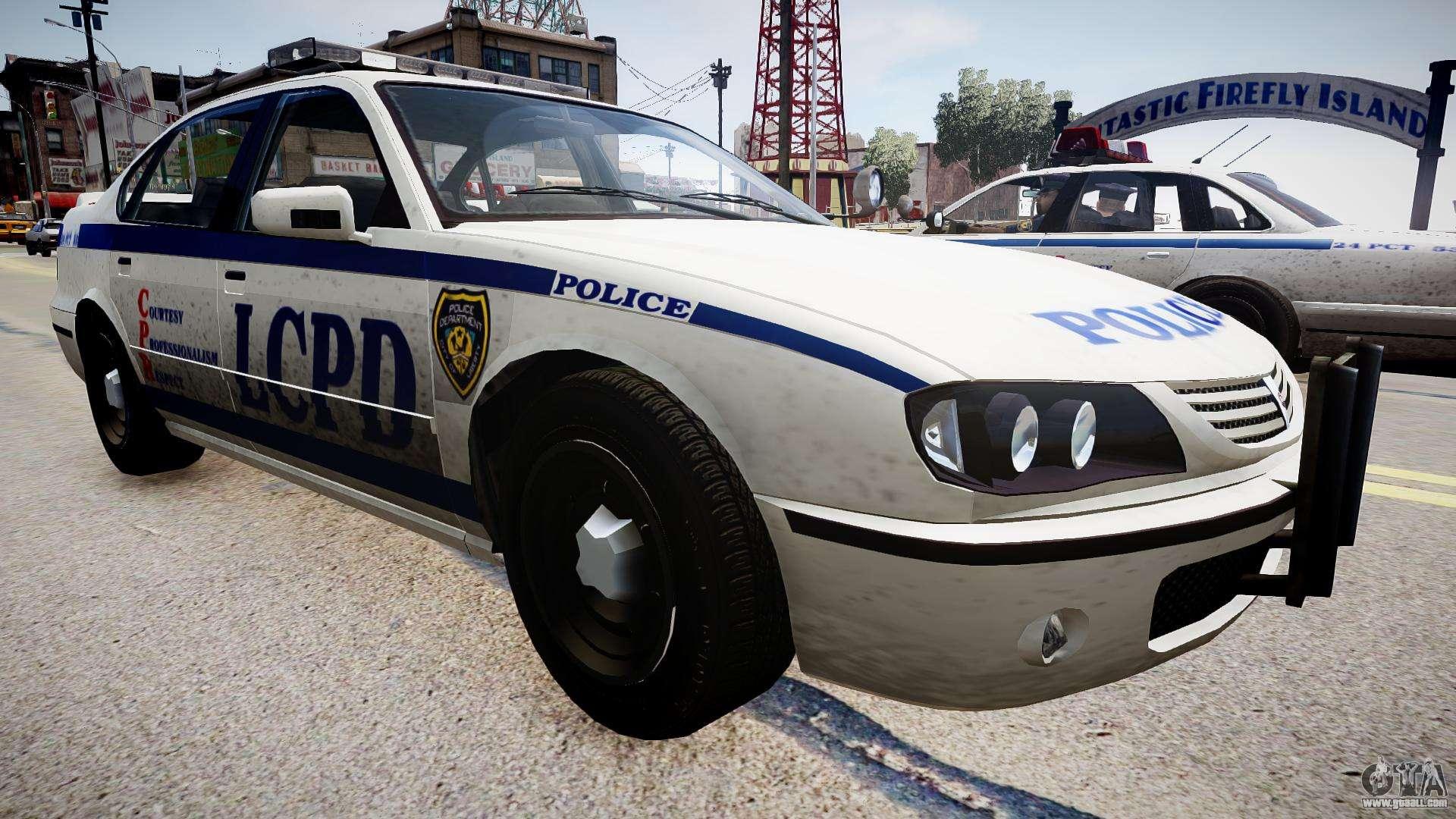 Cars Now: Police Patrol For GTA 4