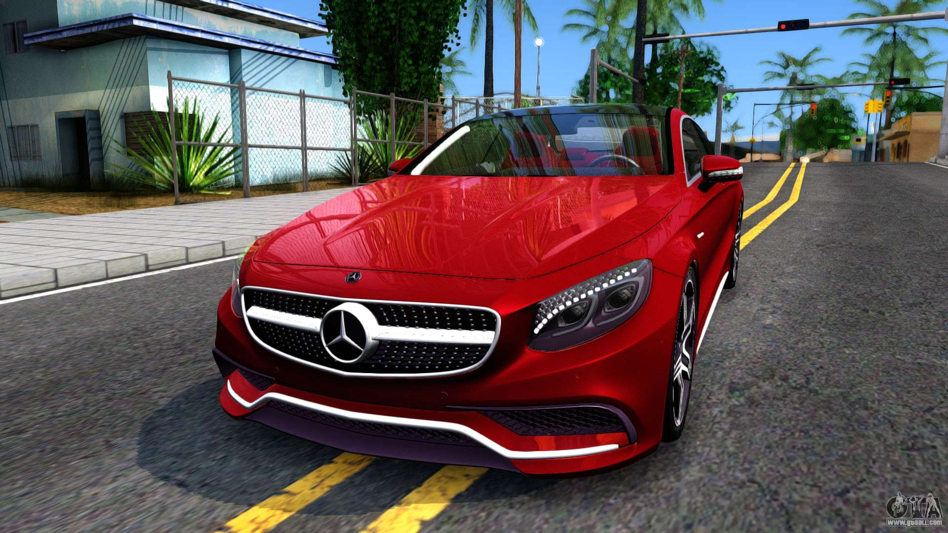 Mercedes Benz S63 AMG Coupe For GTA San Andreas