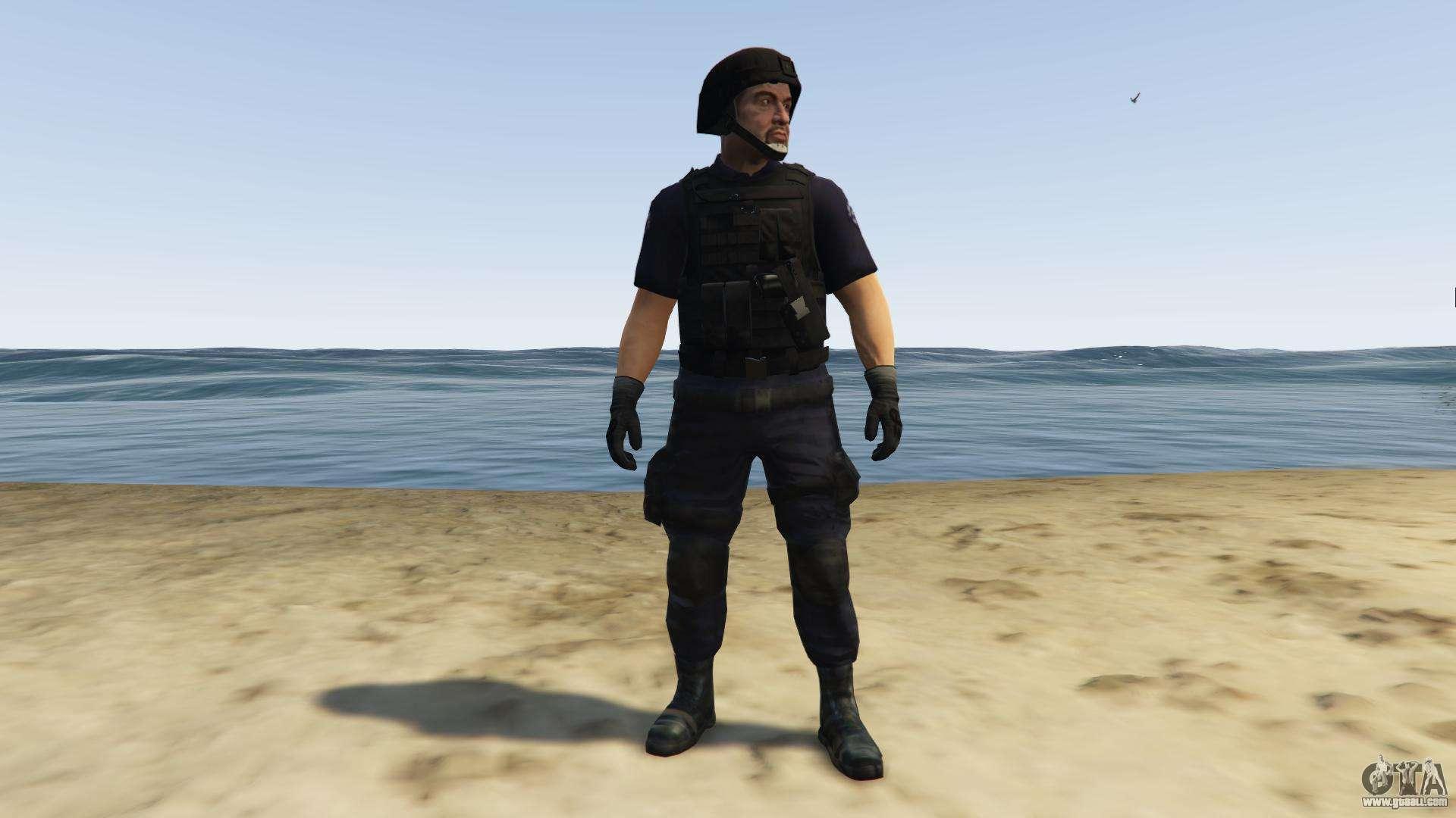 SAHP SWAT Ped Model 2 0 0 for GTA 5