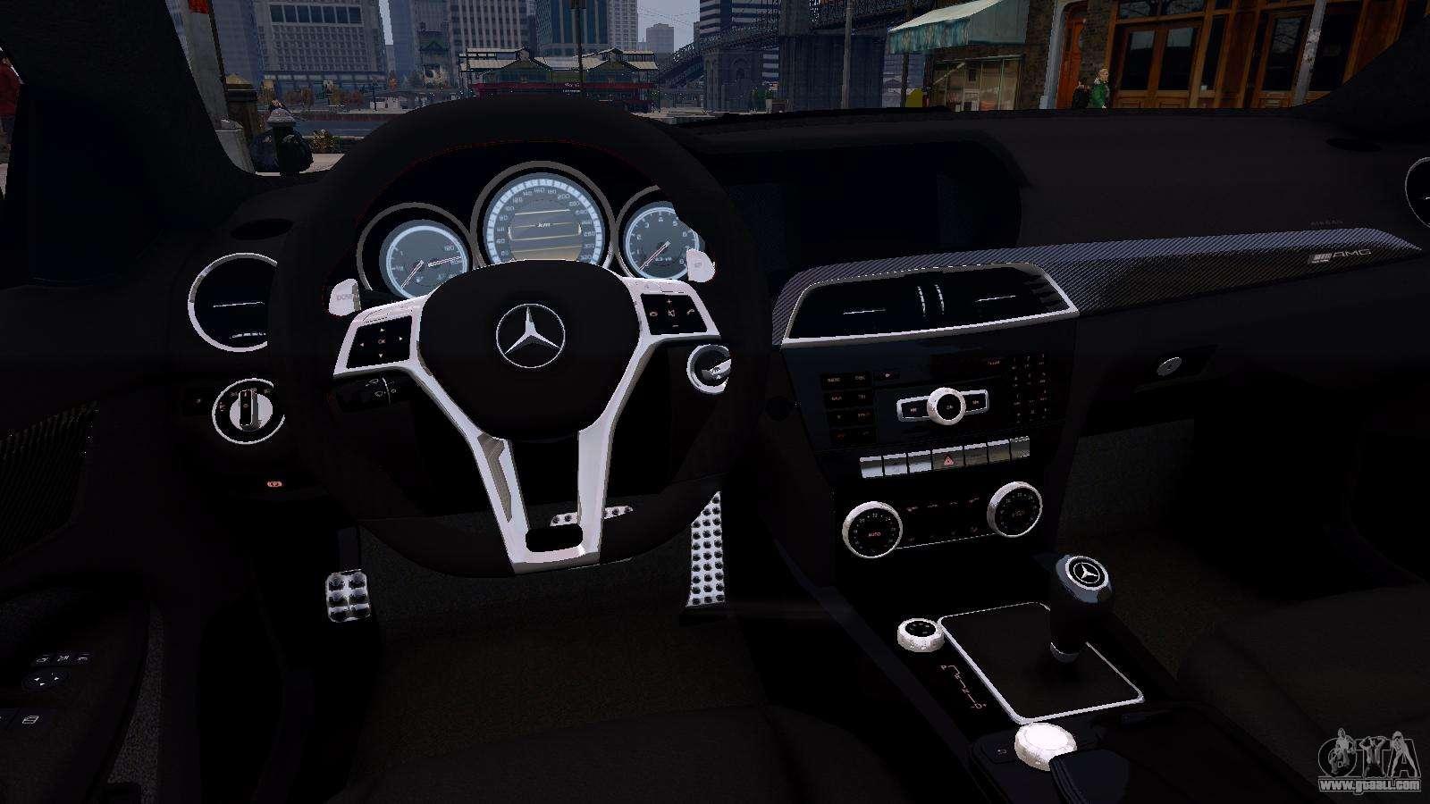 Mercedes-Benz C63 AMG 2012 v1.0 for GTA 4