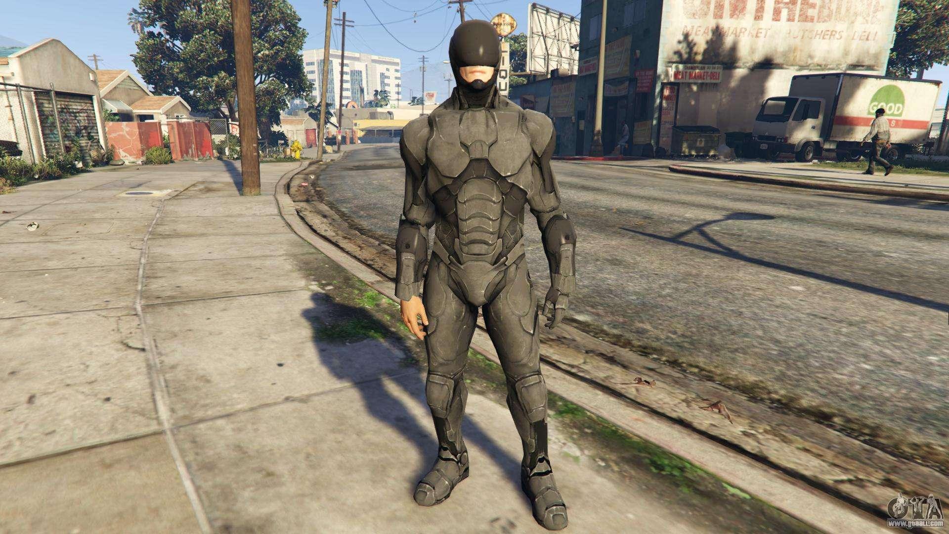 Robocop for GTA 5