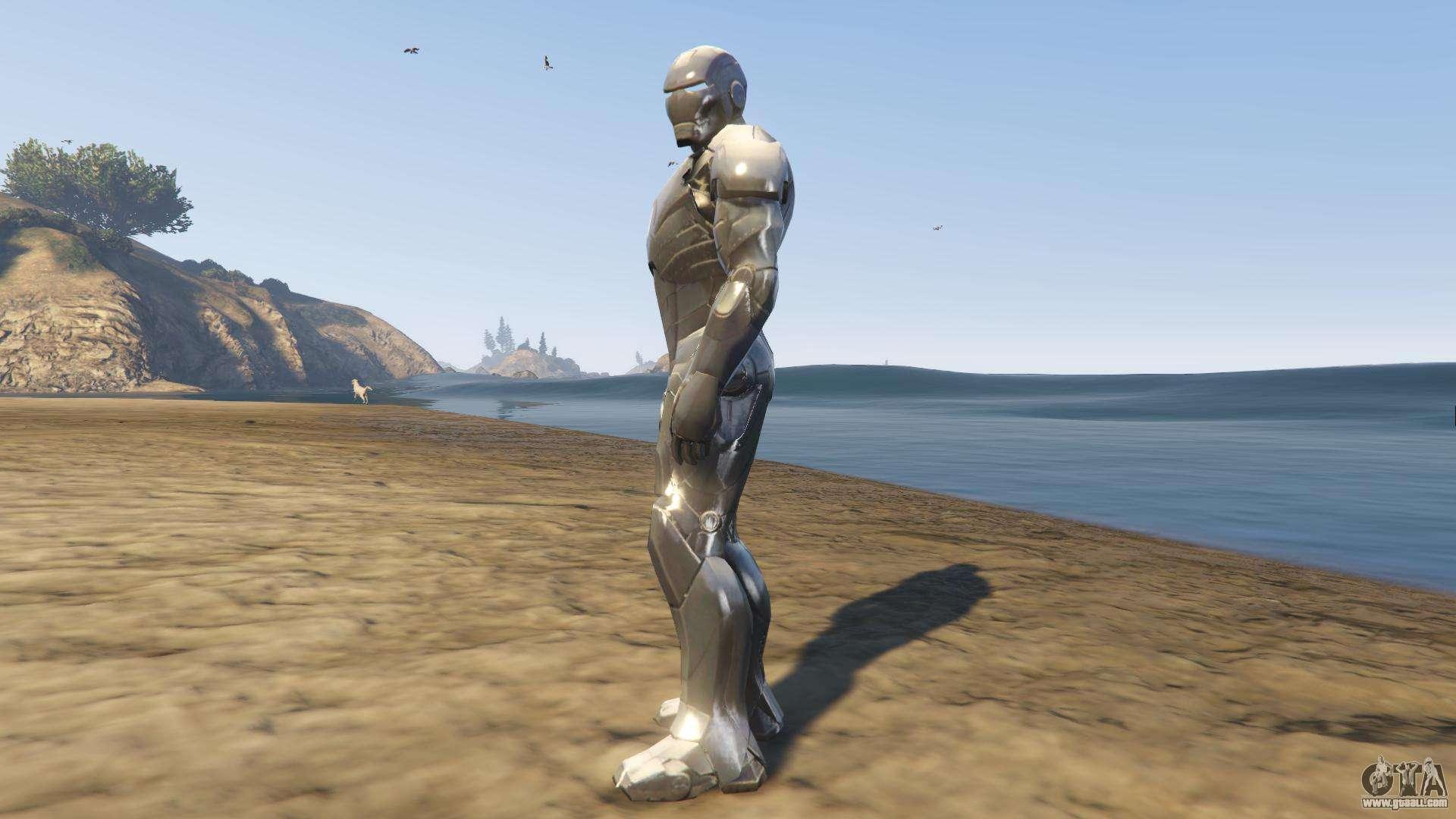 Iron Man Mark 2 for GTA 5