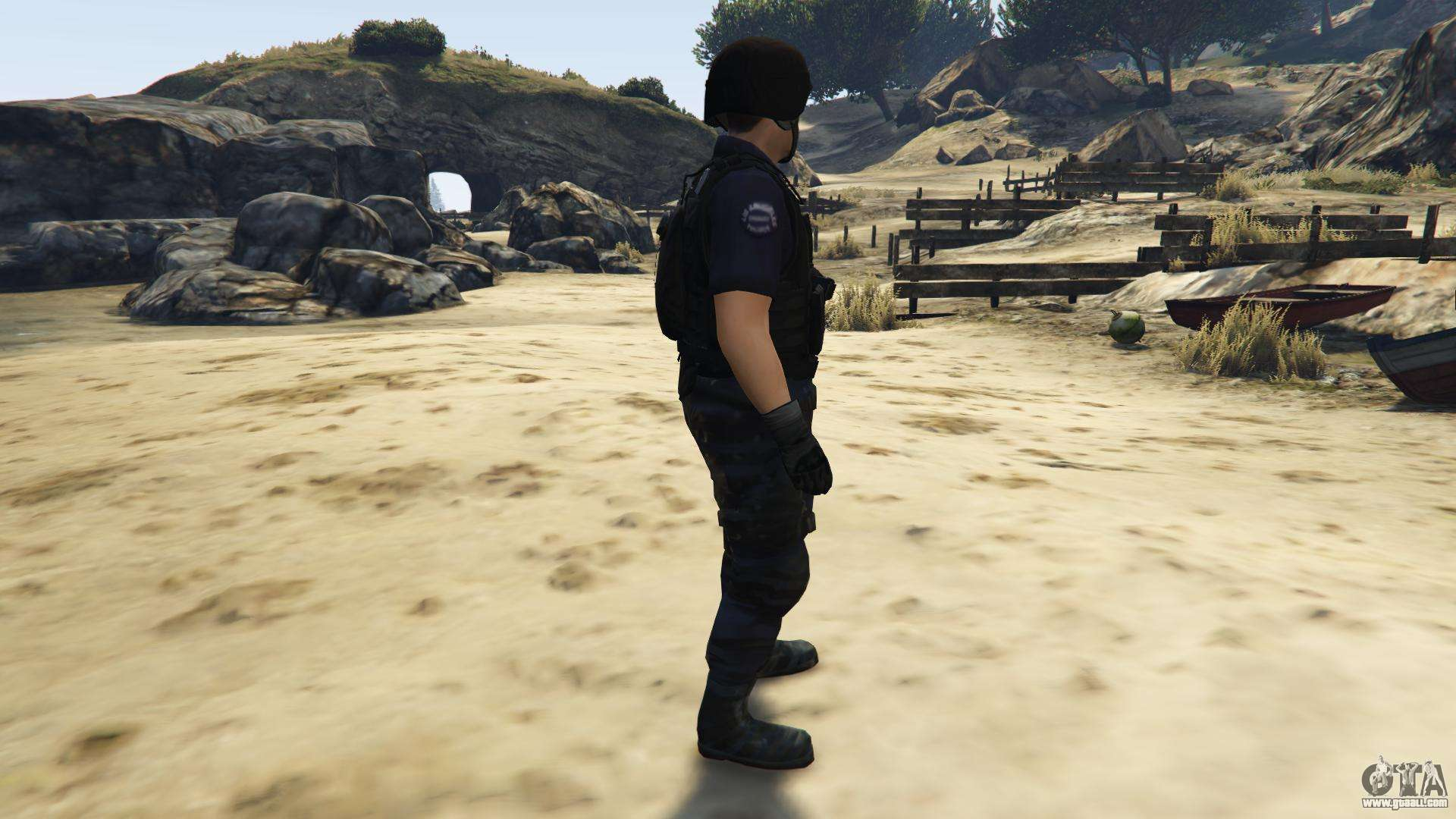 LAPD SWAT Ped for GTA 5