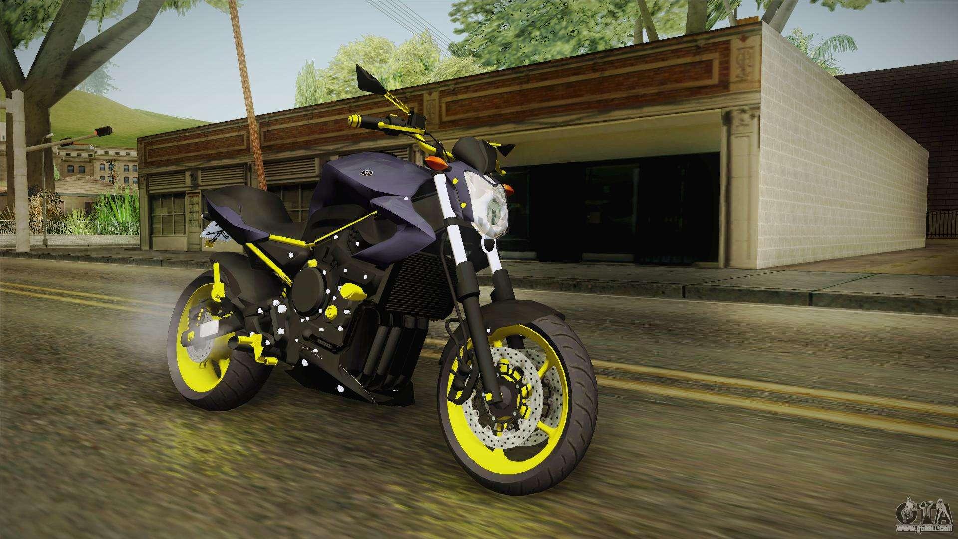 Yamaha XJ6 for GTA San Andreas