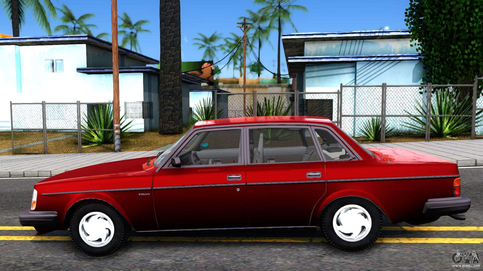 volvo 244 turbo for gta san andreas. Black Bedroom Furniture Sets. Home Design Ideas