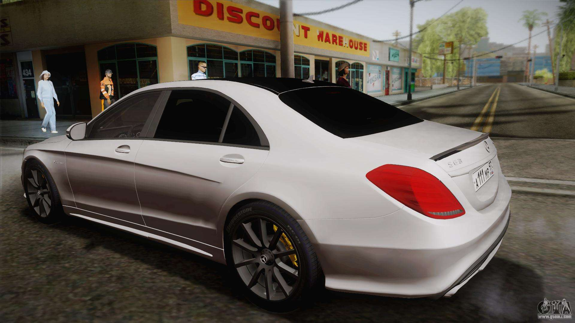 Mercedes benz s63 amg w222 for gta san andreas for Mercedes benz 563 amg
