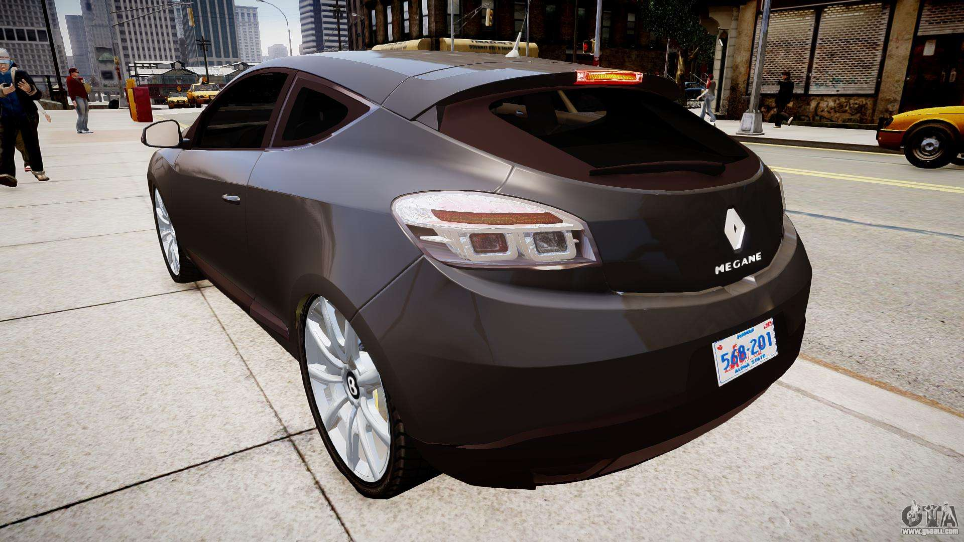renault megane coupe for gta 4. Black Bedroom Furniture Sets. Home Design Ideas