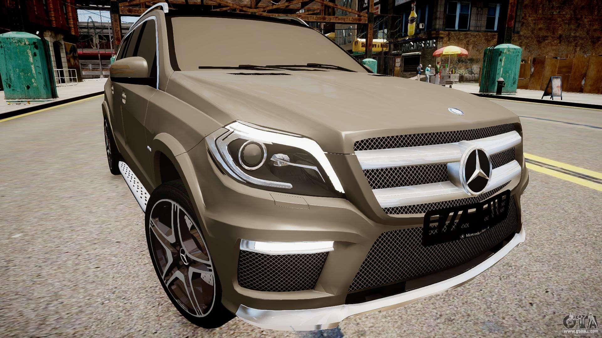 Mercedes benz gl63 amg for gta 4 for Mercedes benz gl63 amg