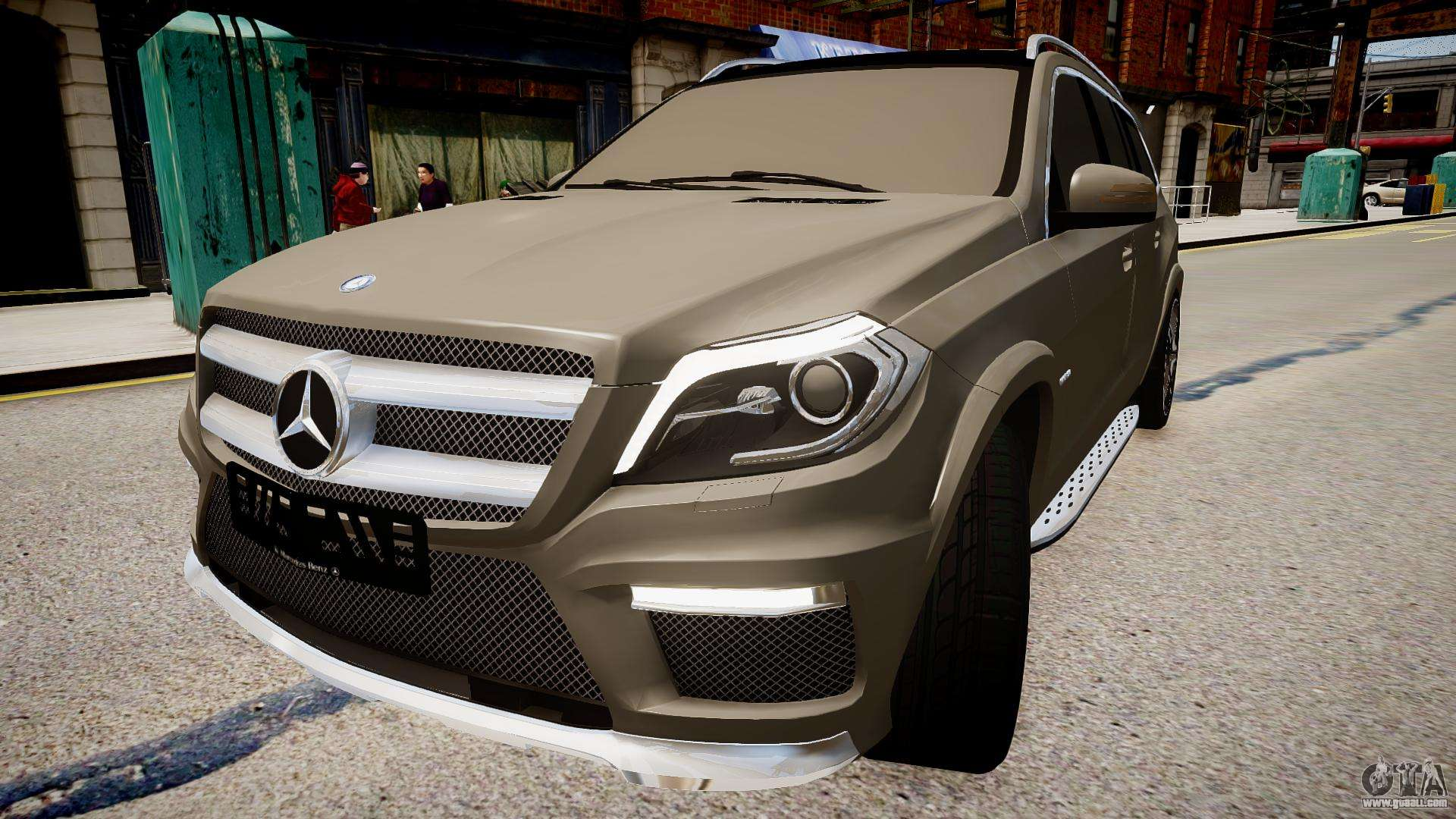 Mercedes benz gl63 amg for gta 4 for Mercedes benz gl63