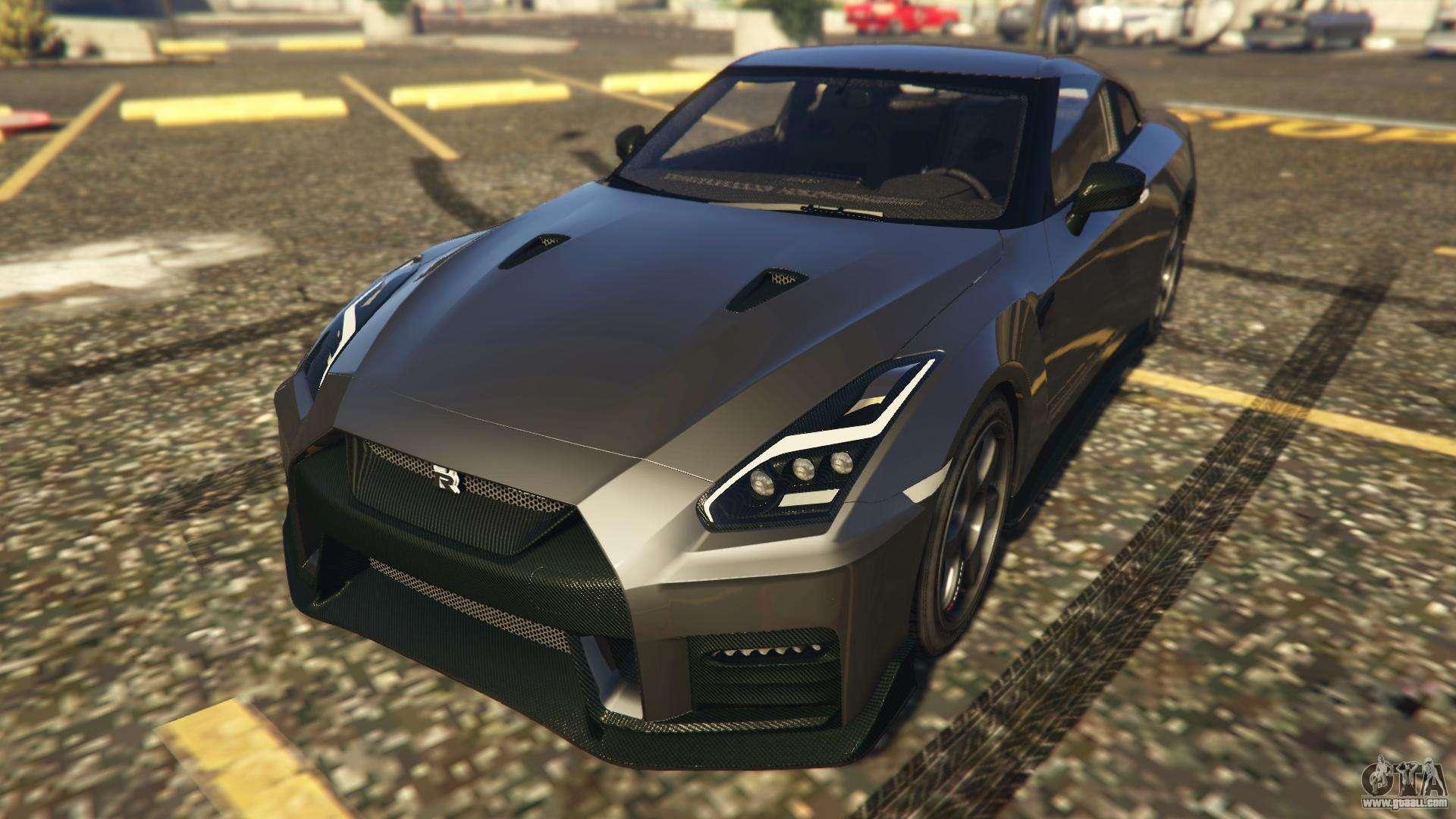 Nissan GTR Nismo 2017 for GTA 5
