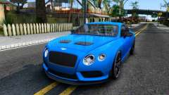 Bentley Continental GT3-R 2015 for GTA San Andreas