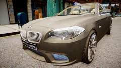 BMW 550i F10 v2 for GTA 4