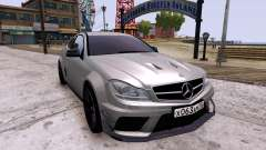 Mercedes-Benz C63 AMG 2012 v1.0 for GTA 4