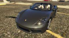Porsche 718 Boxster S for GTA 5
