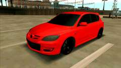 Mazda 3 Red for GTA San Andreas