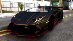 Lamborghini Aventador DMC LP988 for GTA San Andreas
