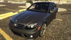 Mercedes-Benz C63 AMG W204 2014 for GTA 5