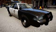 The police car of GTA V for GTA 4