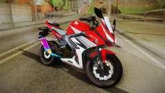 Honda CBR150R 2016 Racing Red for GTA San Andreas