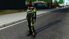 Kawasaki Racing Suit for GTA San Andreas