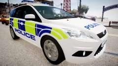 Ford Focus Estate '09 police UK
