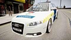Hungarian Audi Police Car