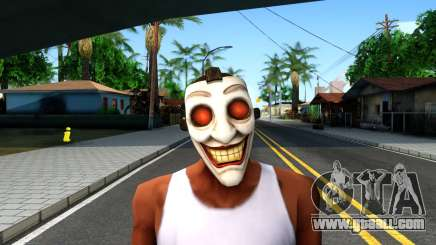 Joker Clan Mask From Injustice Gods Among Us for GTA San Andreas