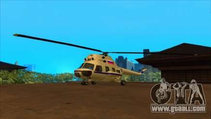 The helicopter of the police Federation for GTA San Andreas