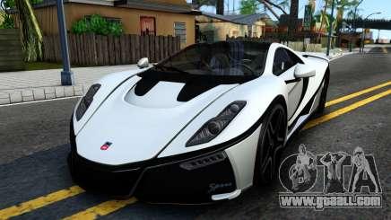 GTA Spano 2015 for GTA San Andreas