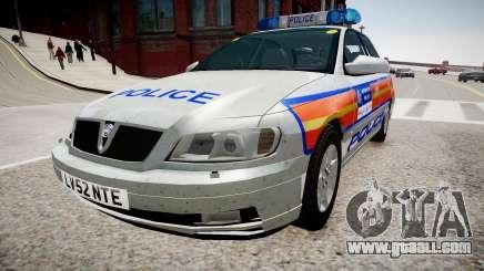 Met Police Vauxhall Omega for GTA 4