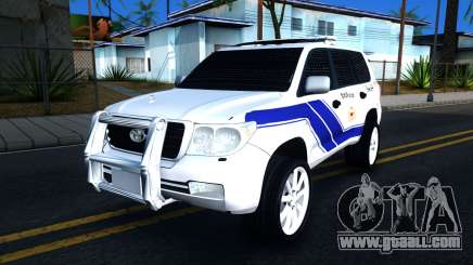 Toyota Land Cruiser Police for GTA San Andreas