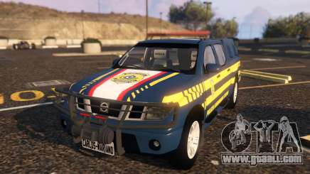 Nissan Frontier PRF for GTA 5