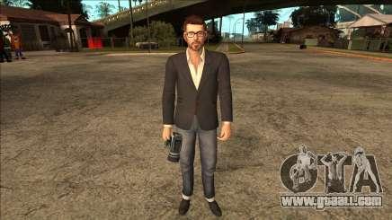 Life Is Strange - Mark Jefferson Regular for GTA San Andreas