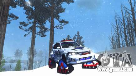 Subaru Impreza WRX STi Snow for GTA San Andreas