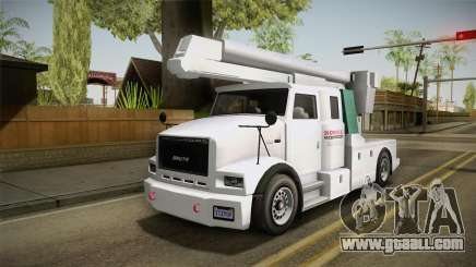 GTA 5 Brute Utility Truck for GTA San Andreas
