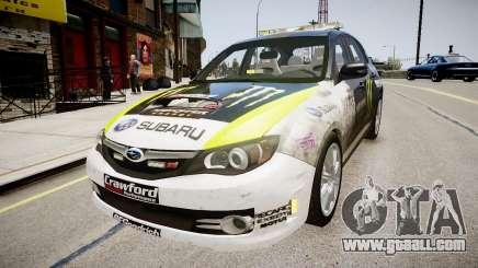 Subaru Impreza WRX STi K.Block for GTA 4