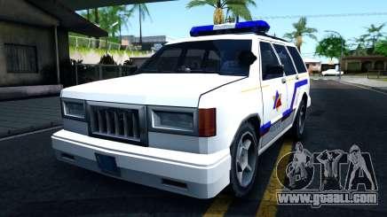 Landstalker Hometown Police Department 1994 for GTA San Andreas